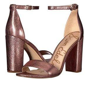 NEW Sam Edelman soft pink Yaro heels